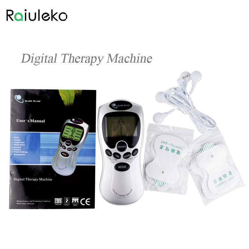 Digital Therapy Machine Physiotherapy Massage Body Slimming Pulse Massage ador Electronic Acupuncture Massage Electrode electric beauty body slimming and lipoid fat massaging massager is powerful vibratory body and slimming machine