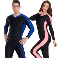 SBART 2019 Lycra Diving Wetsuit anti UV one piece rash guard long sleeve swimwear surf Suit Men Women Sun Protect
