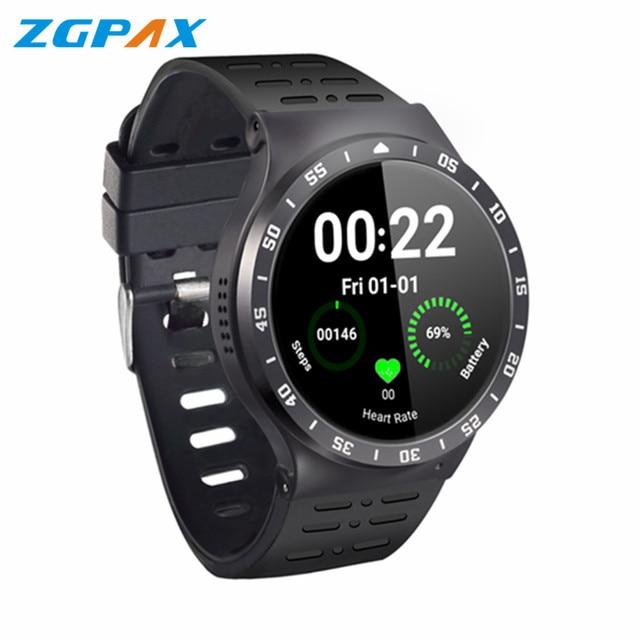 ZGPAX S99A Quad Core 3 г Смарт-часы Android 5.1 512RAM 8 ГБ ROM GPS, Bluetooth, Wi-Fi V4.0 ШАГОМЕР Сердце Скорость MTK6580 SmartWatch