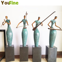 The copper sculpture art crafts figure bronze statue of musician  ornaments gift decorations gifts [funny] collection crafts sword of the berserk nosferatu zodd fushi no zoddo figure statue bust dragon mountain resin model gift