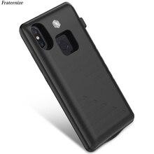Odporny na wstrząsy Power Bank Case dla Xiaomi Mi 8 zewnętrzny przenośny akumulator ładowarka case dla Xiaomi Mi8 se przypadku baterii pokrywa ładowania