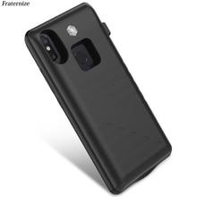 Stoßfest Power Bank Fall Für Xiaomi Mi 8 Externe Tragbare ladegerät fall Für Xiaomi Mi8 se batterie Fall Lade abdeckung