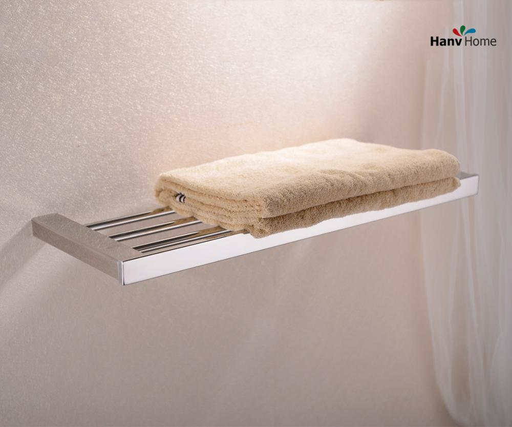 304 Stainless Steel Chrome Or Nickel Towel Rack,Towel Bar,Towel Holder, Bathroom Accessories okaros bathroom double towel bar 60cm towel rack towel holder solid brass golden chrome plating bathroom accessories