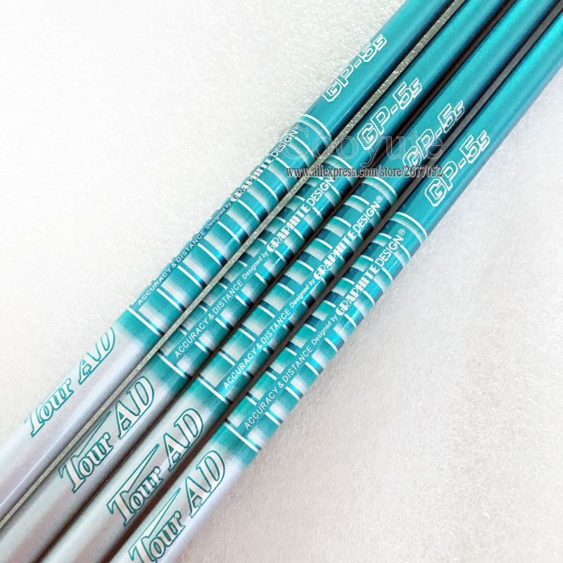 New Cooyute Golf shaft TOUR <font><b>AD</b></font> GP-5s Golf driver Wood shaft 6pcs/lot Graphite Golf shaft R or S Flex Free shipping image