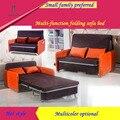 Dobrável único sofá cama sala de estar na moda