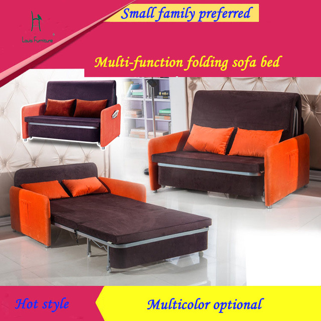 Single folding sofa bed fashionable sitting room-in Living Room ...