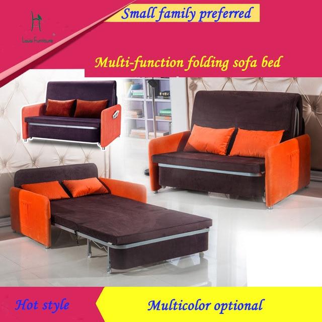 Tunggal Lipat Sofa Bed Ruang Duduk Modis Di Sofa Ruang Tamu Dari