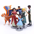 Princess Toys Elena of Avalor PVC Figures Girls Toys Gifts 6pcs/set