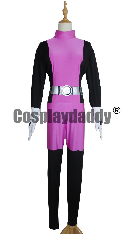 Teen Titans The Doom Patrol Uniform Beast Boy BB Cosplay Costume F006 mars pattern warhound titans full set f006