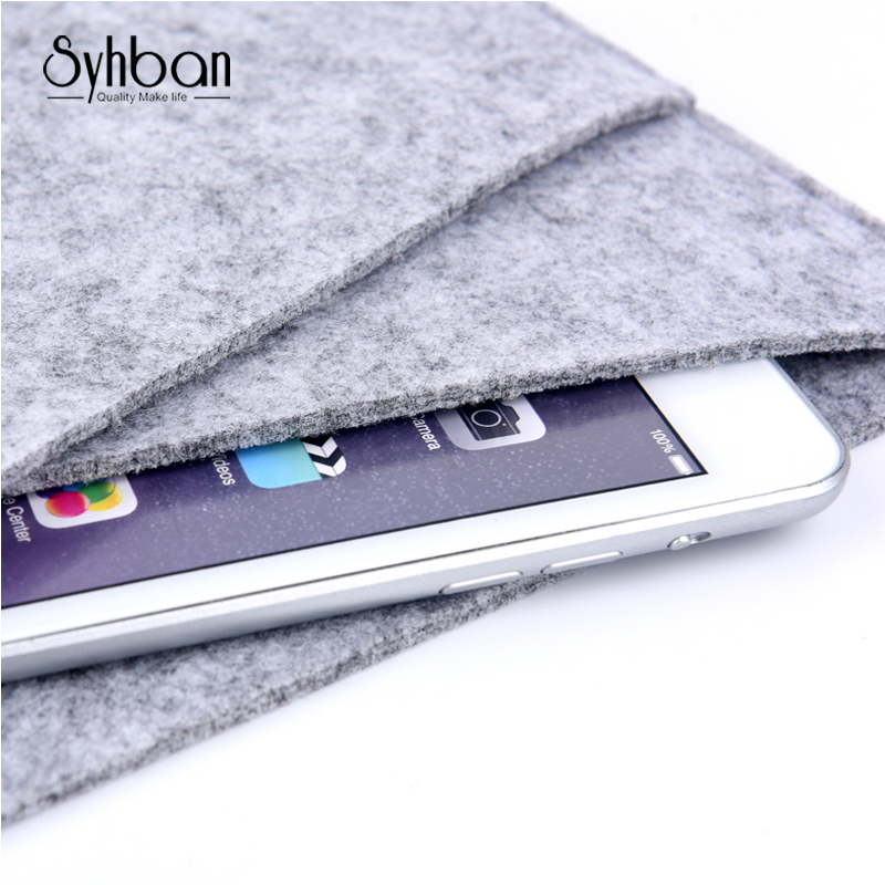 2018 for iPad Pro 9.7 Premium fashion Soft Sleeve Bag Case Notebook Cover for iPad 9.7inch Tablet PC Fashion Wool Felt