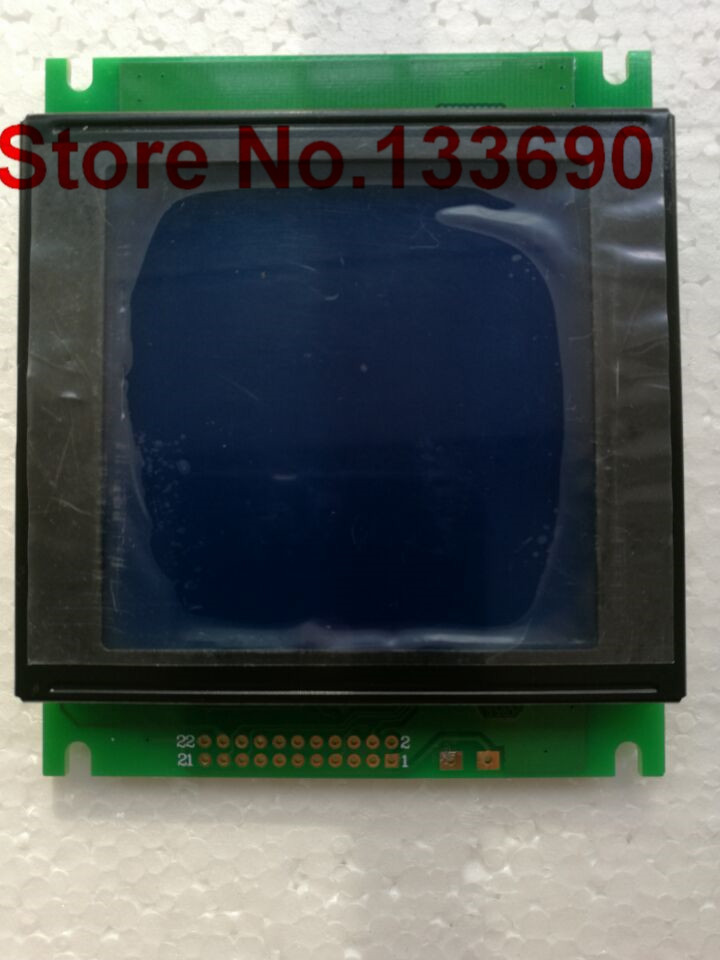 1pcs 128x128 lcd display compatible with tm128128cd 128 128 LED backlight blue Challenger 8186 SM300 spare