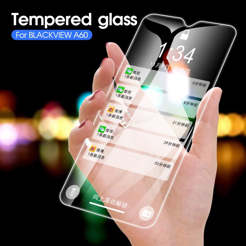 2.5D 9H Tempered Glass For <font><b>Blackview</b></font> A20 S8 <font><b>BV8000</b></font> BV7000 BV9000 BV9600 <font><b>Pro</b></font> BV6000 P2 Lite A60 A7 Screen Protector Film Guard image