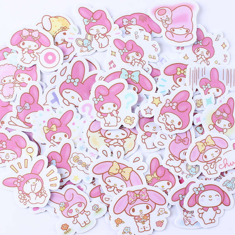 40pcs Creative Cute  Kawai Self-made My Anime  Scrapbooking Stickers/decorative Sticker /DIY Craft Photo Albums