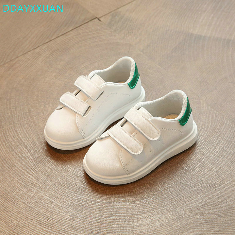 Children sneakers 2018 New Spring Fashion Girls Sports Shoes kids Shoes Boys Girl white School Shoes kids Sneakers Baby boys