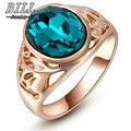 R019 новый шаблон Мода 2017 г. Свадебные Прекрасный кольцо с зеленым кристаллом для Для женщин Jewelry Accessoris оптовая продажа Прямая Продажа с фабрики - фото