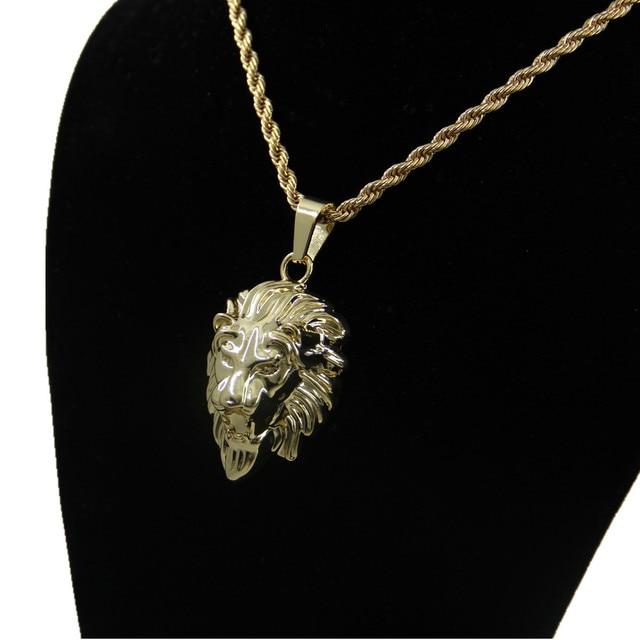 Vintage lion head kings men necklaces jewelry chain necklaces vintage lion head kings men necklaces jewelry chain necklaces pendant collane landing masculine for man aloadofball Gallery