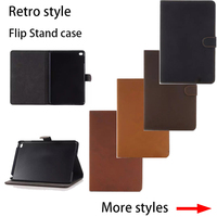 For Apple iPad Air /5 case Cover With Card Slots Business Retro PU Leather Protective Skin Case Cover Tablet Accessories