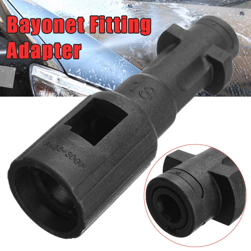 Bayonet Fitting Adapter Pressure Washer Fitting Conversion For K-Series Lavor Lavor Kew Nilfisk Alto Connector