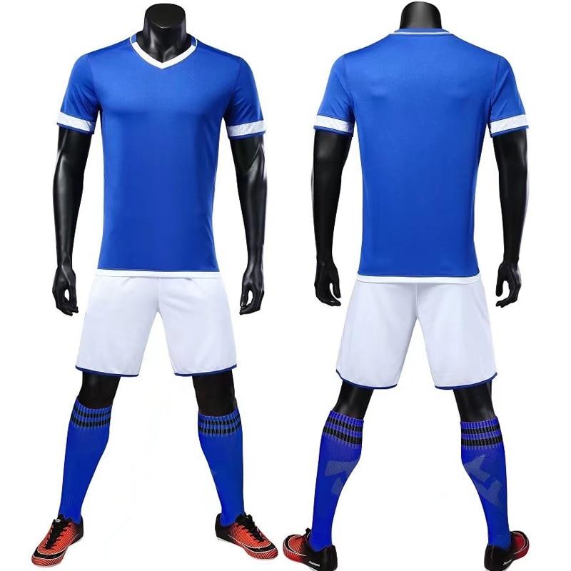customize child soccer jerseys 2018 kids soccer set 2019 Men Futbol Maillots De Football Camisa Futebol Sporting Training Jersey number