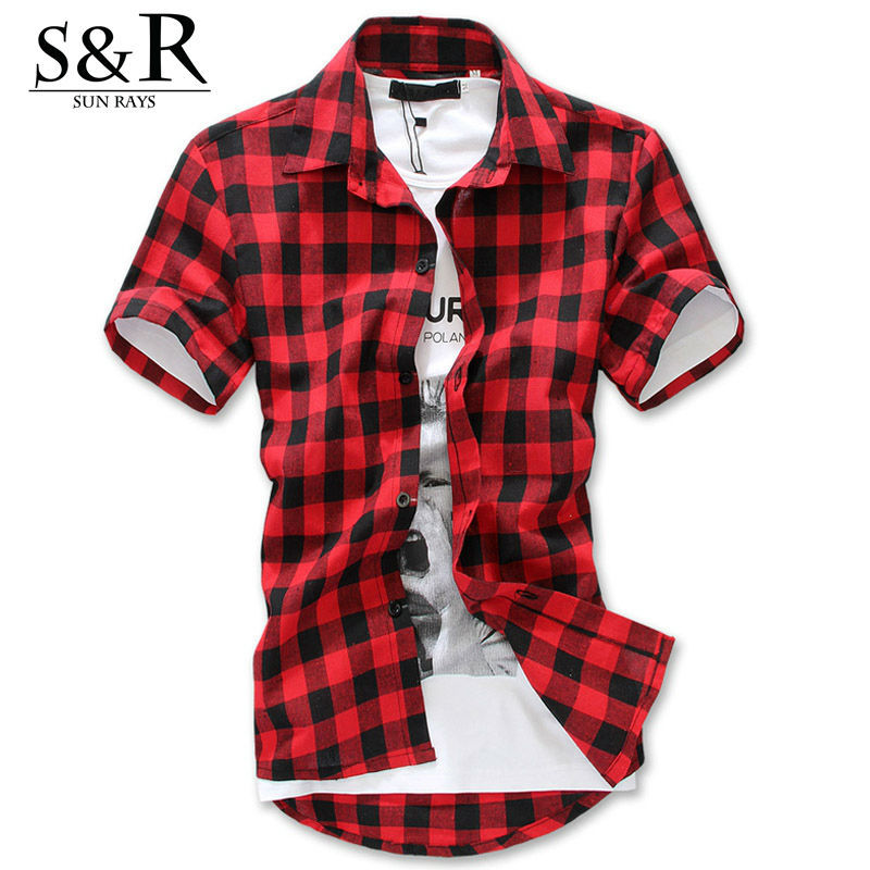 Mens slim fit flannel shirts t shirts design concept for Mens slim fit flannel shirt
