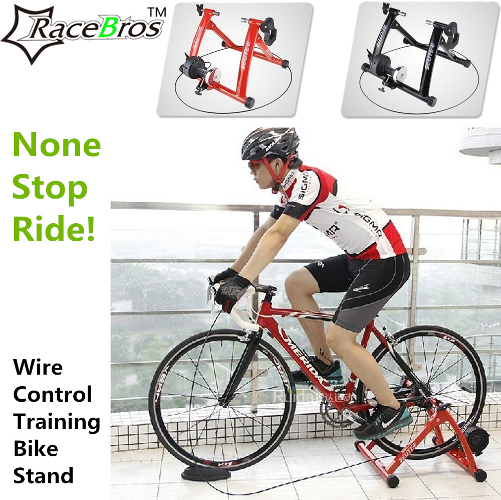 Magnetic Resistance Bicycle Trainer Bike Stand Indoor ...