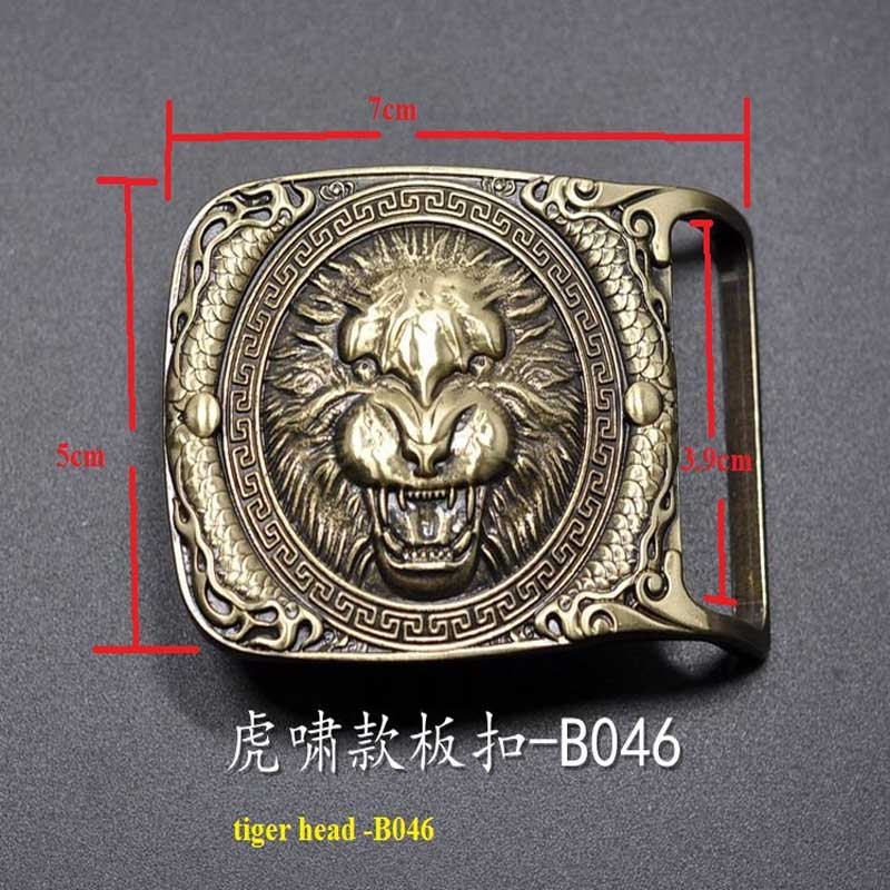 0b708c27d full Copper brass buckle belt buckle plate men's buckle 3.9cm tiger head  JJQYB046S -in Tool Parts from Tools on Aliexpress.com | Alibaba Group