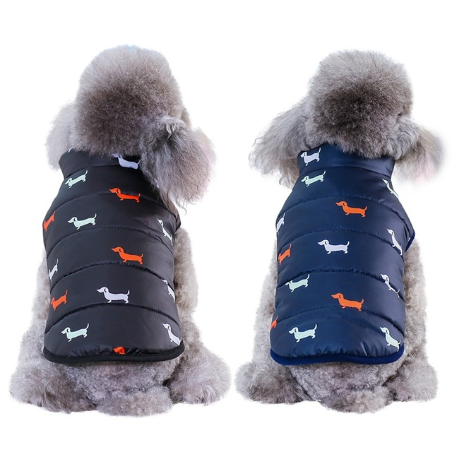 Cool Autumn Winter Pet Dog Cat Warm Clothes Coat British Style Jacket with Fur Collar For Small Medium Dog Puppy ropa para perro 1