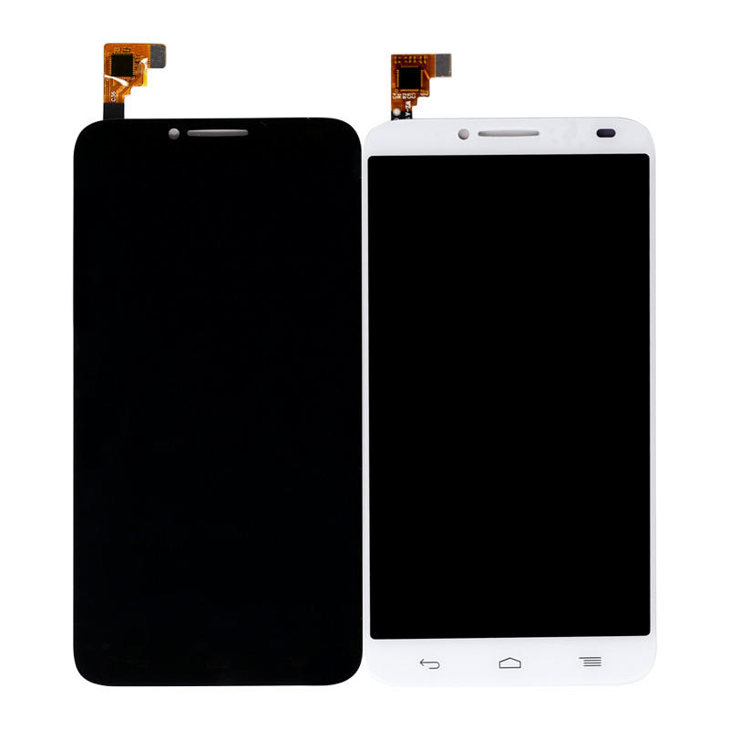 Candid 5pcs/lot For Alcatel One Touch Idol 2 6037 Lcd Display Touch Screen Digitizer Assembly Ot6037 Display Free Shipping Dhl Ems Excellent Quality In