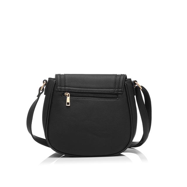 Ladies Solid Messenger Bag Purse