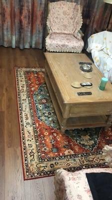 Oriental Area Rugs,Vintage Lime Green Bedroom Sofa Carpets,Water Washable Living Room Rug