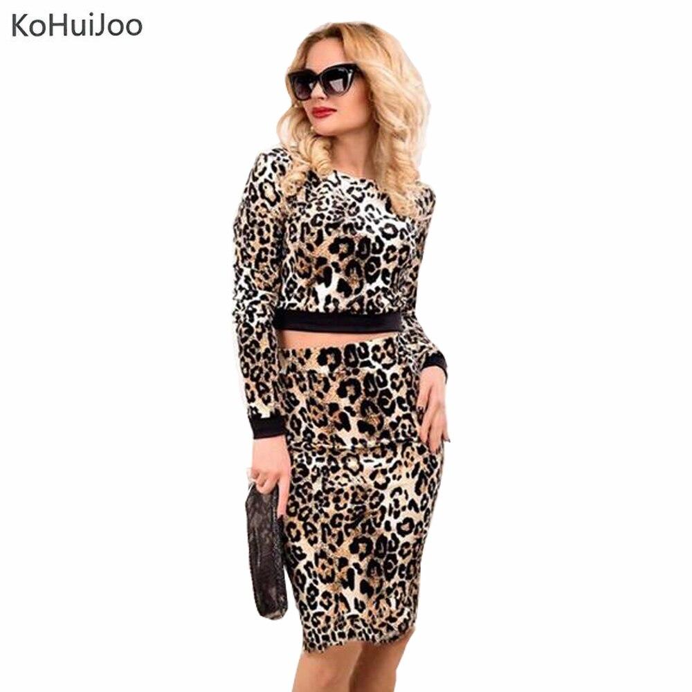 Леопардовые топы и юбки