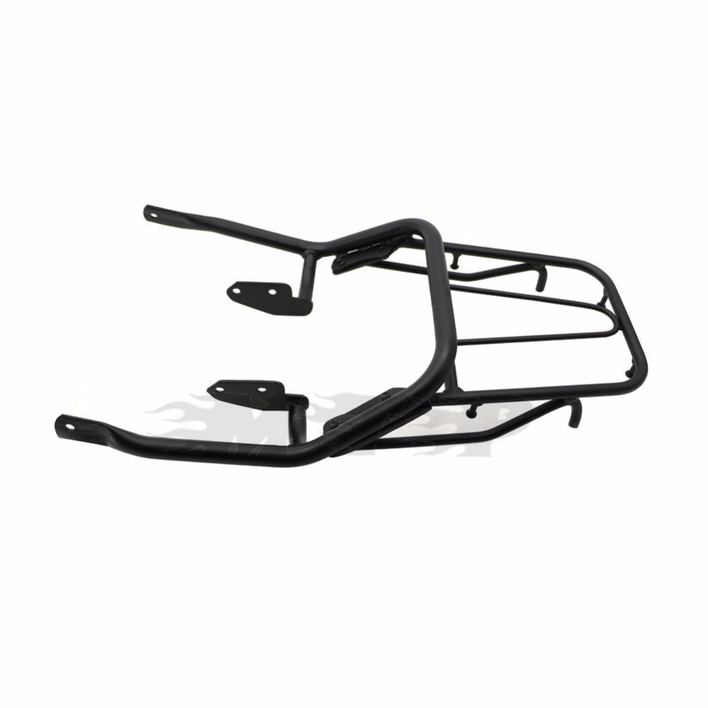 FTR223 Tail Rear Fender Luggage Rack Saddlebag Cargo Holder Shelf For Honda FTR 223 Motorcycle Frame Stand Bracket Black Silver partol black car roof rack cross bars roof luggage carrier cargo boxes bike rack 45kg 100lbs for honda pilot 2013 2014 2015