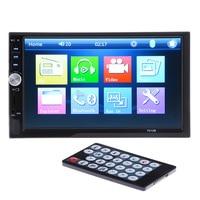 7012B 2 Din Car Stereo Radio Player 7 Inch HD In Dash Touch Screen Bluetooth Car