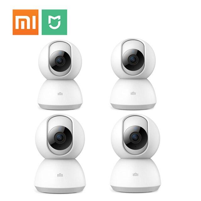 4 Xiaomi Mijia Camera IP 1080 P Không Dây Gia Camera An Ninh Wifi 2MP H.265 Hai Chiều Trẻ Em mini IPCam Xem Từ Xa