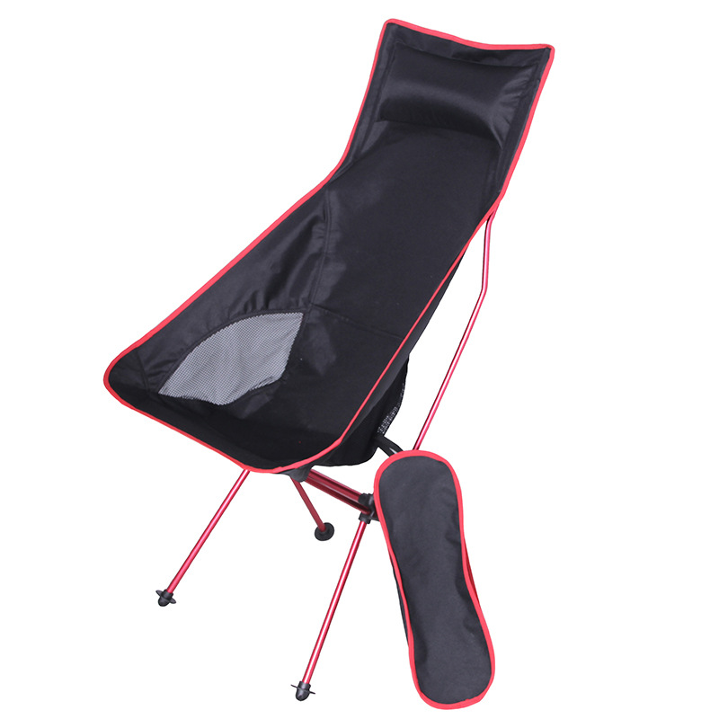 Wunderbar Tragbare Faltbare Mond Stuhl Angeln Camping BBQ Hocker Folding Erweiterte  Wandern Sitz Garten Ultraleicht Office Home