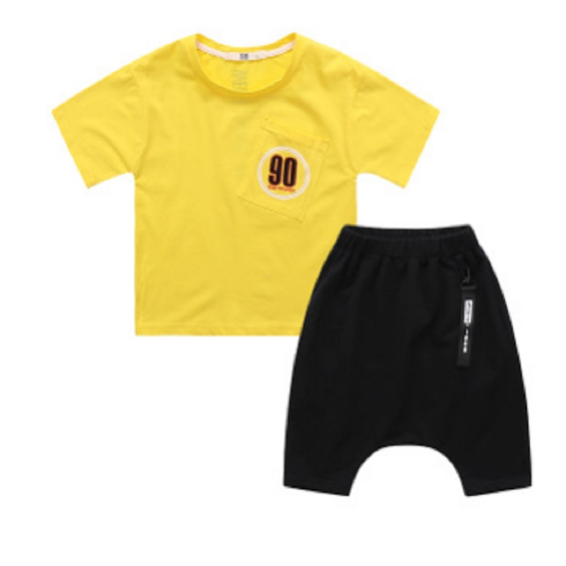 Boys Sports Clothing Set 2018 New Summer Kids Clothes Sets Children Clothing Suits Sets 3 Number Colors Size110-160 ly082 summer boys handsome gentleman suits 2018 summer new baby boy clothes set 1 3 years striped summer children clothing
