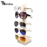 2017 Nouveau lunettes de Soleil En Bois Racks Pour Lunettes De Mode lunettes de Soleil En Bois Bijoux Affichage Lunettes Stand Support En Bambou lunettes de Soleil