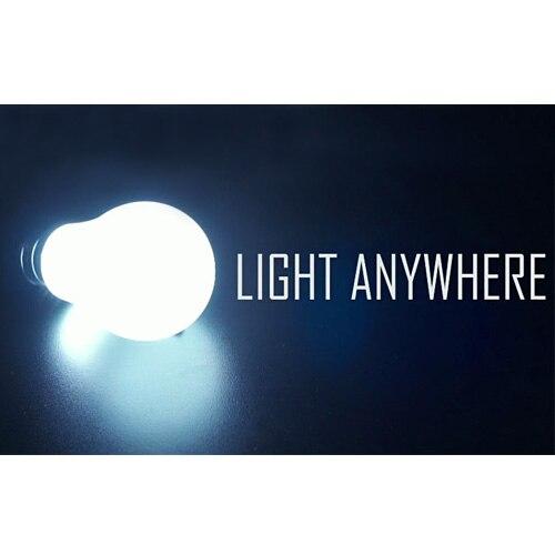 Ampoule télécommande lumière n'importe où, bulle Super brillante-tours de magie, mentalisme, gros plan, accessoires de magie, accessoires, Illusions
