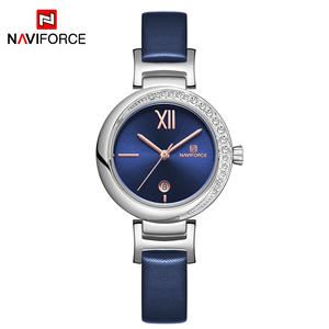 Image 5 - New NAVIFORCE Women Fashion Quartz Watch Female Casual Waterproof Clock Wristwatch Luxury Brand Ladies Watches reloj mujer 2019