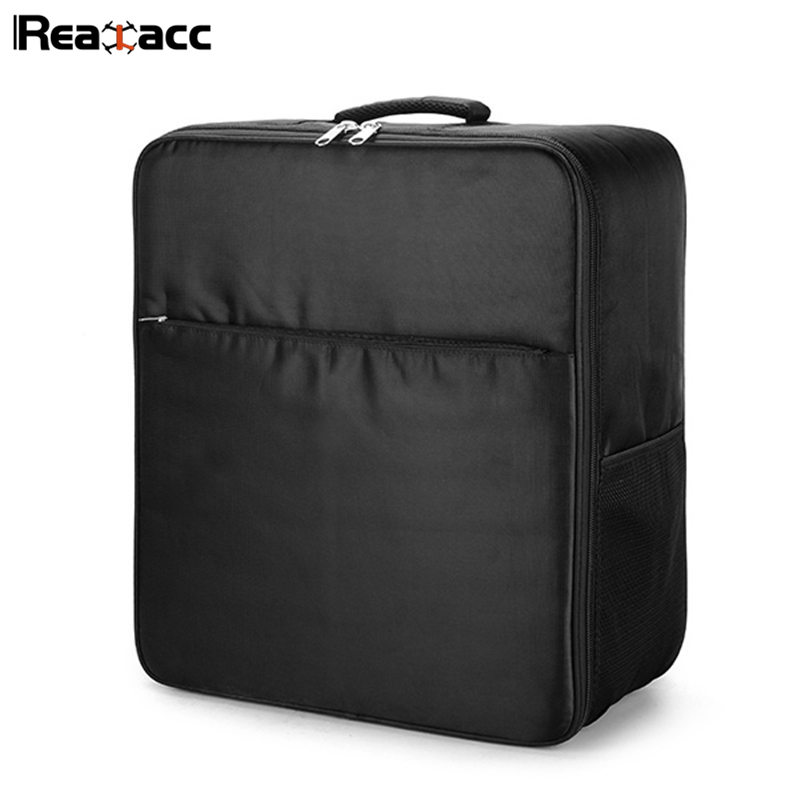 Original Realacc Black Suitcase Backpack Carrying Case Shoulder Bag For Yuneec Typhoon Q500 RC Quadcopter Models Accessories цены онлайн