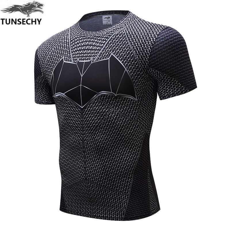 Новинка, футболка с изображением Железного человека, Капитан Америка, футболки с 3D принтом, мужские Мстители 3, короткий рукав, тонкая одежда для фитнеса, мужская одежда