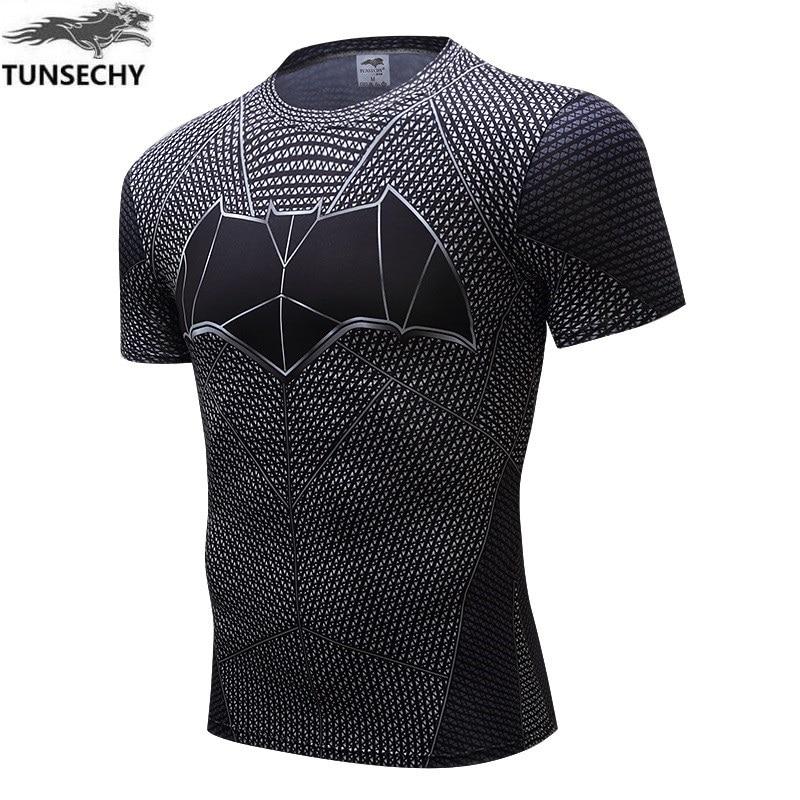 NEW Iron Man T Shirt Captain America Civil War Tee 3D Printed T-shirts Men Avengers 3 Short Sleeve Slim Fitness Clothing Male
