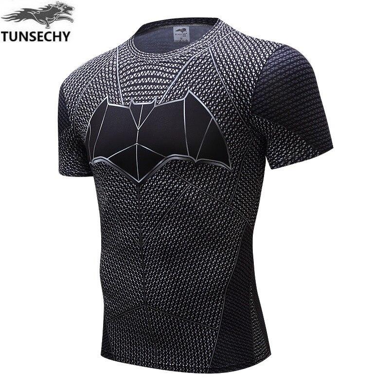 Nouveau fer homme T Shirt Captain America Civil War Tee 3D imprimé T-shirts hommes Avengers 3 manches courtes Slim Fitness vêtements homme