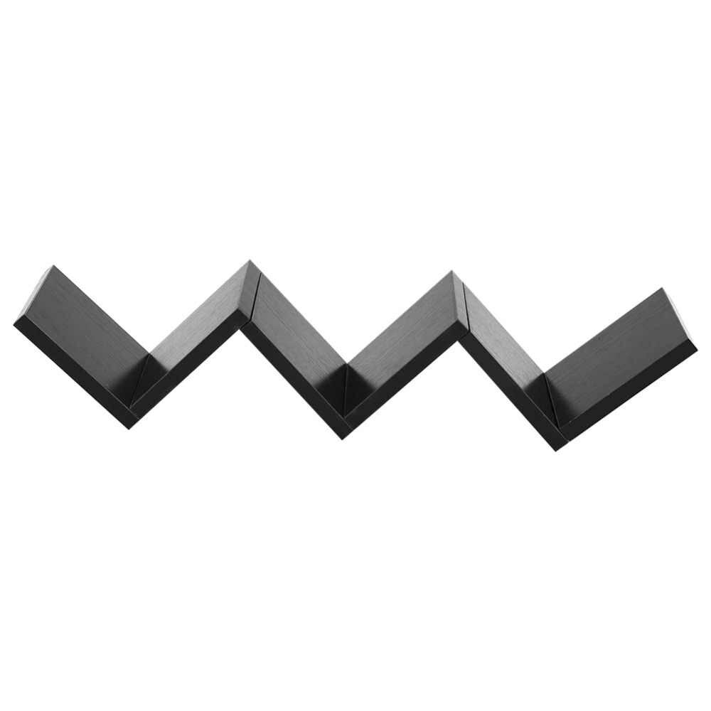 хит продаж плавающий W Shaped полки 1 3 шт настенный