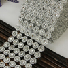 Mesh Trim Bling Diamond Wrap 24 Rows Crystal drill 10 yard Crystal Ribbons Wedding Party Decoration event party DIY supplies S22