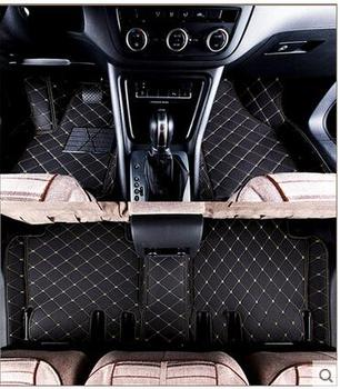 Best quality mats! Custom special car floor mats for Porsche Cayenne 2018 2019 waterproof car rugs carpets,Free shipping