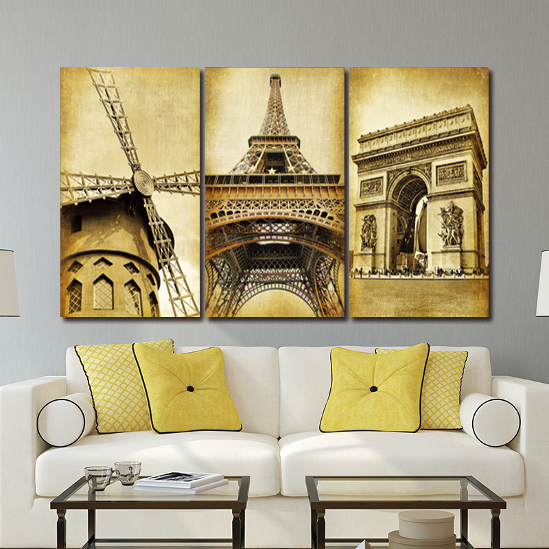 Enchanting 3 Piece Wall Art Festooning - Art & Wall Decor ...