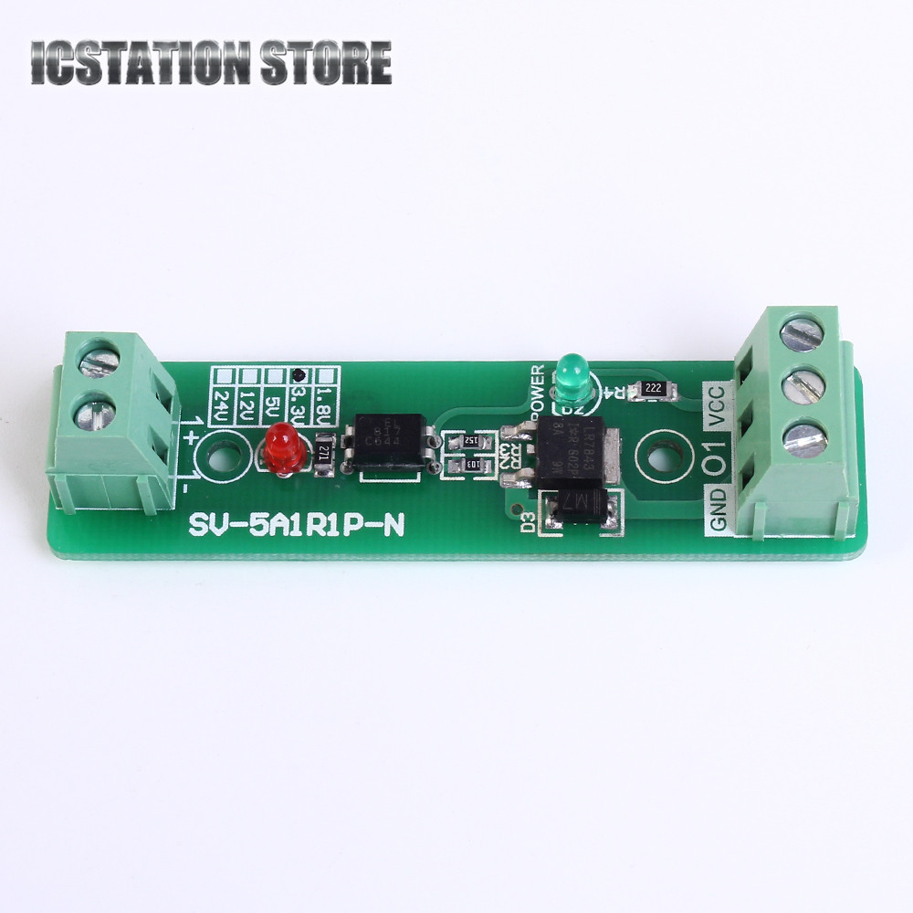 12V Single 1 Channel Relay Driver Module Optocoupler Isolation Input ...