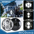 """DOT E-mark Approved Round 7"""" Led headlight Hi/lo Projector 7 Inch Headlight For Wrangler Motorcycle"""