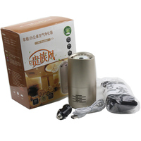 Car Air Purifier USB Negative Ions Air Cleaner Ionizer Air Freshener Auto Mist Maker Pm2.5 Eliminator Odor Remover